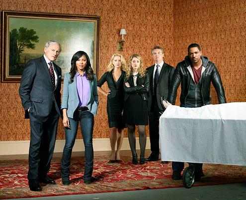 Deception - Season 1 - Victor Garber, Meagan Good, Katherine LaNasa, Ella Rae Peck, Tate Donovan and Laz Alonso