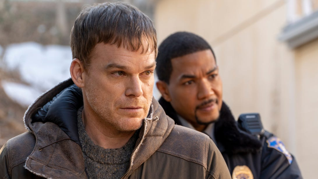 Michael C. Hall and Alano Miller, Dexter: New Blood