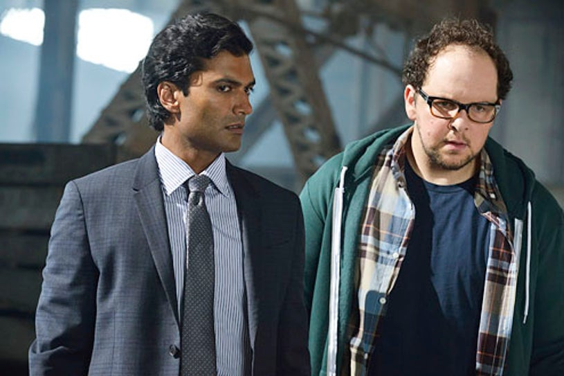 "Beauty and the Beast - Season 2 - ""Who Am I?"" - Sendhil Ramamurthy and Austin Basis"