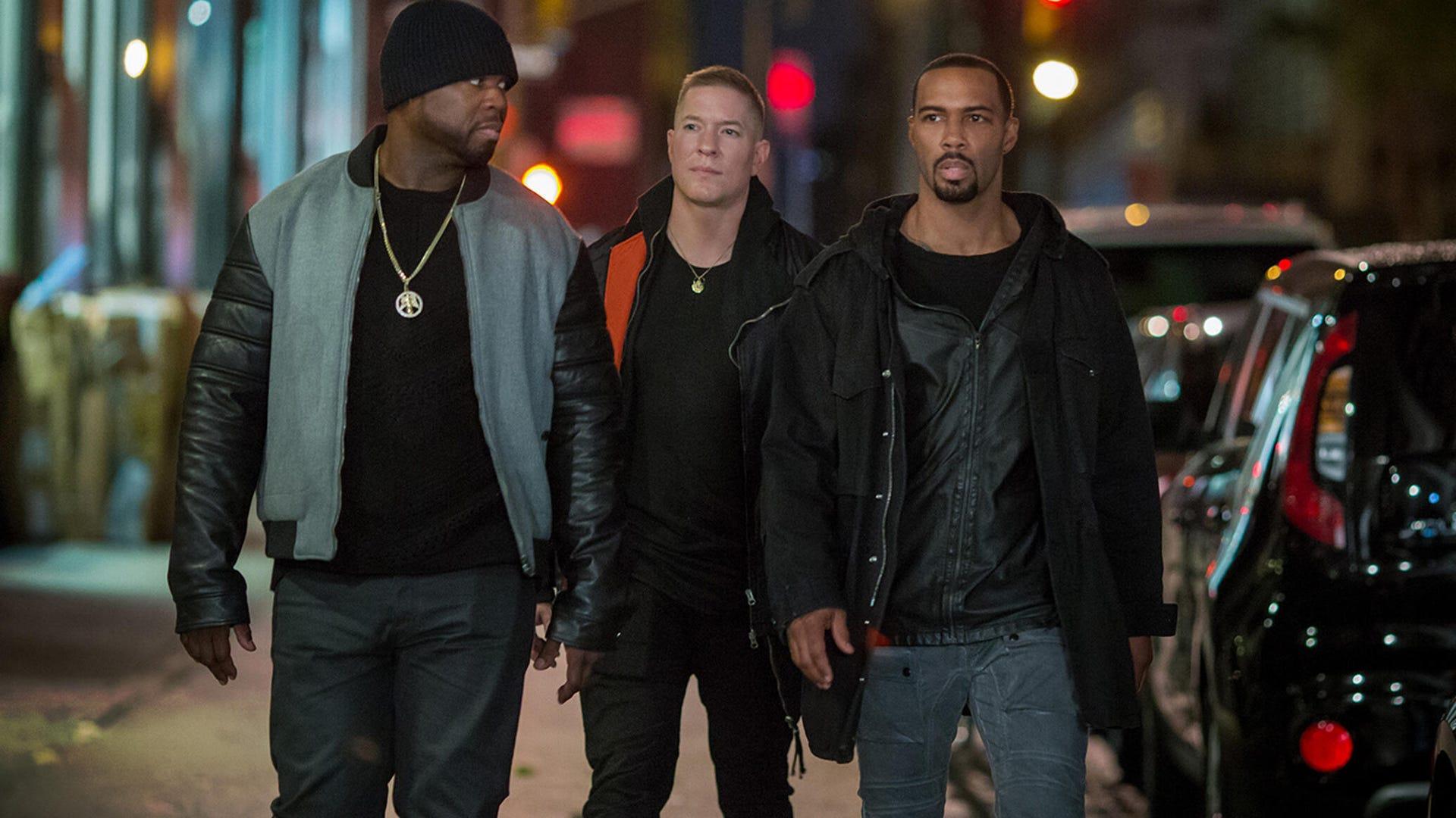 "Curtis ""50 Cent"" Jackson, Omari Hardwick, Joseph Sikora; Power"