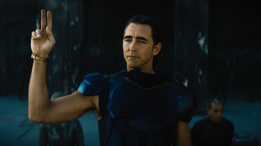 Lee Pace, Foundation