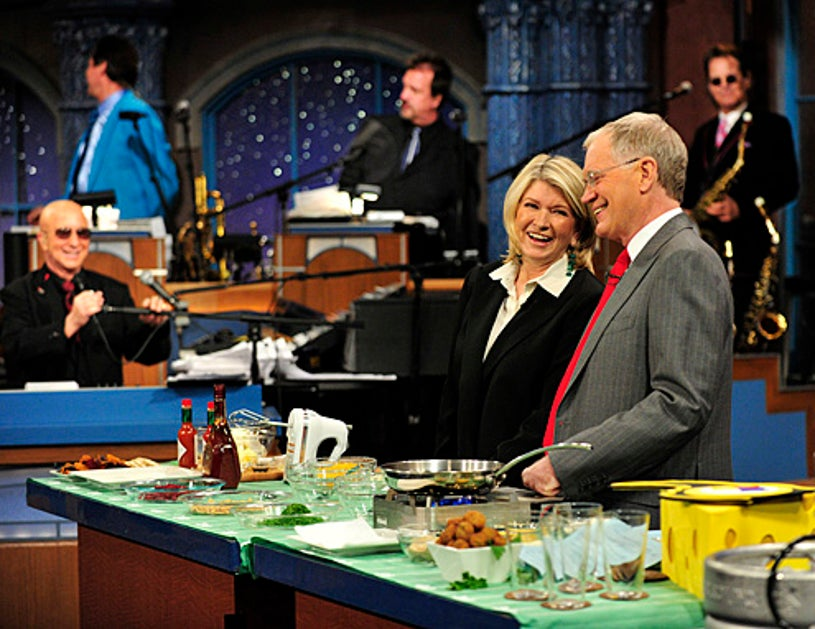 Late Show with David Letterman - Martha Stewart, David Letterman - February 4, 2011