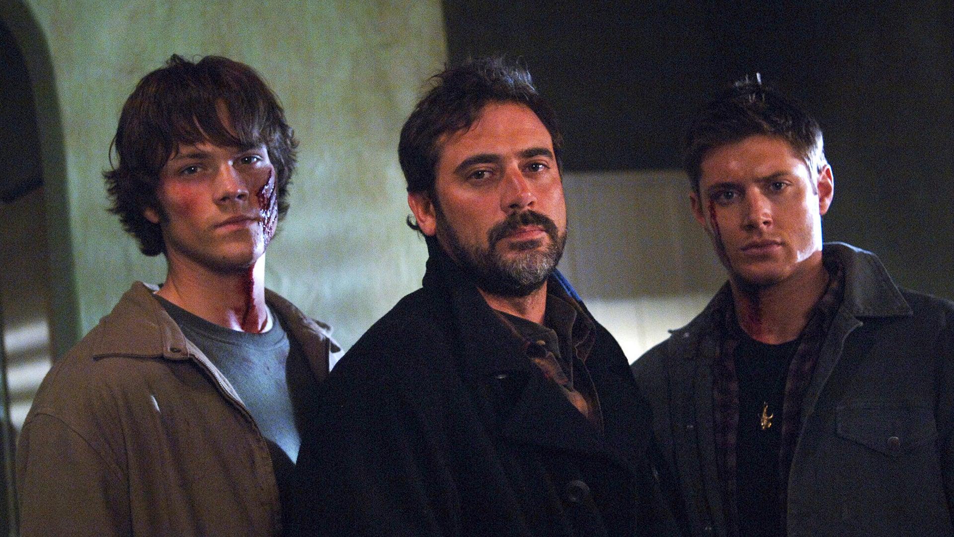 Jared Padalecki, Jeffrey Dean Morgan and Jensen Ackles, Supernatural