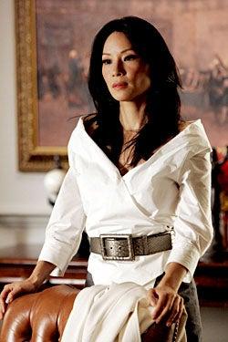 """Dirty Sexy Money - Season 2, """"The Verdict"""" - Lucy Liu as Nola Lyons"""