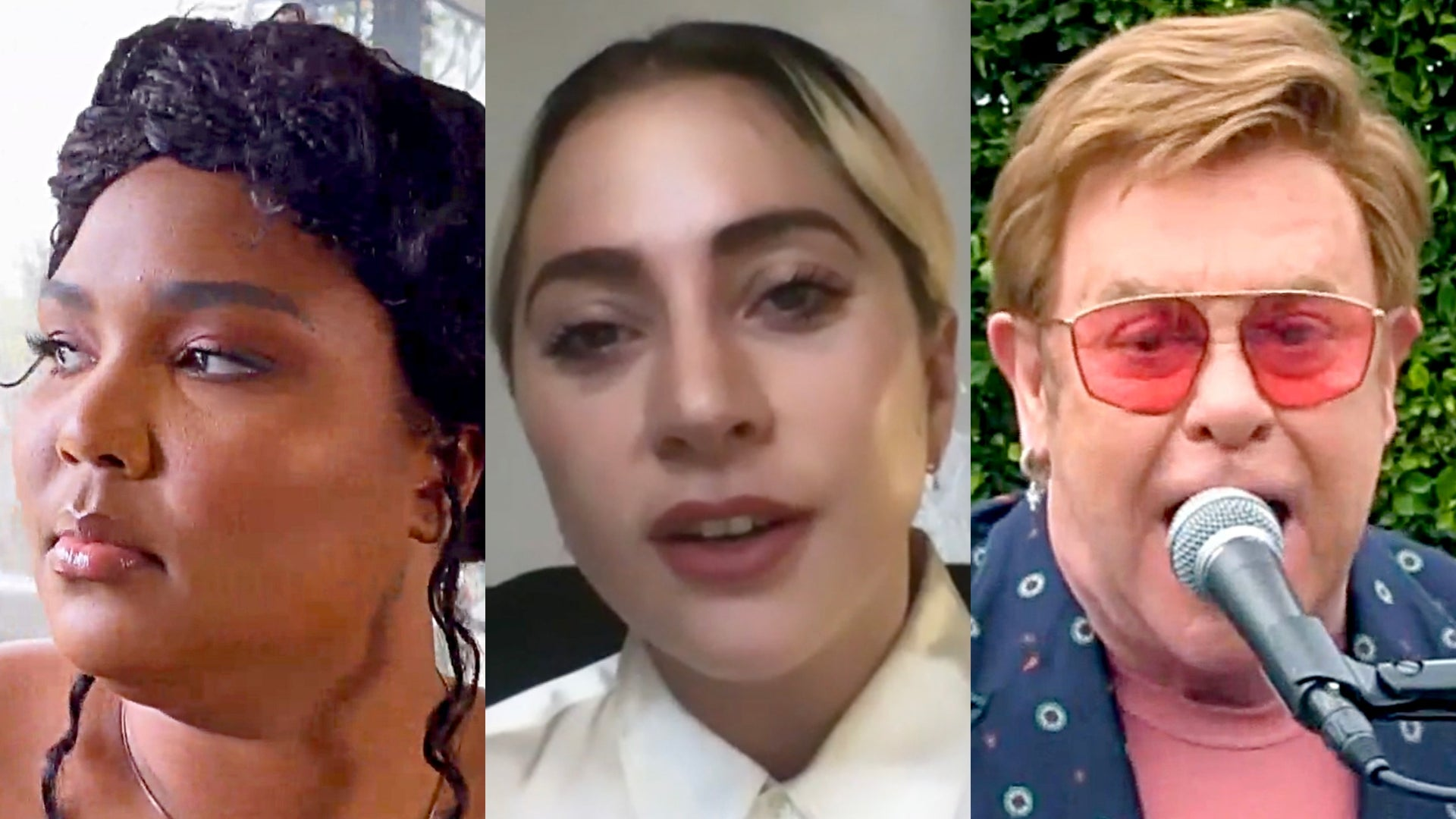 Lizzo, Lady Gaga, and Elton John, One World: Together at Home