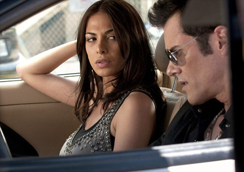 "Crash - Season 2, Episode 2 ""Always See Your Face""  - Moran Atias as Inez and Dana Ashbrook as Jimmy"