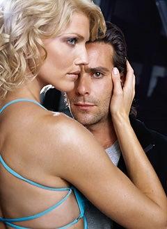 Battlestar Galactica - Triccia Helfer and James Callis