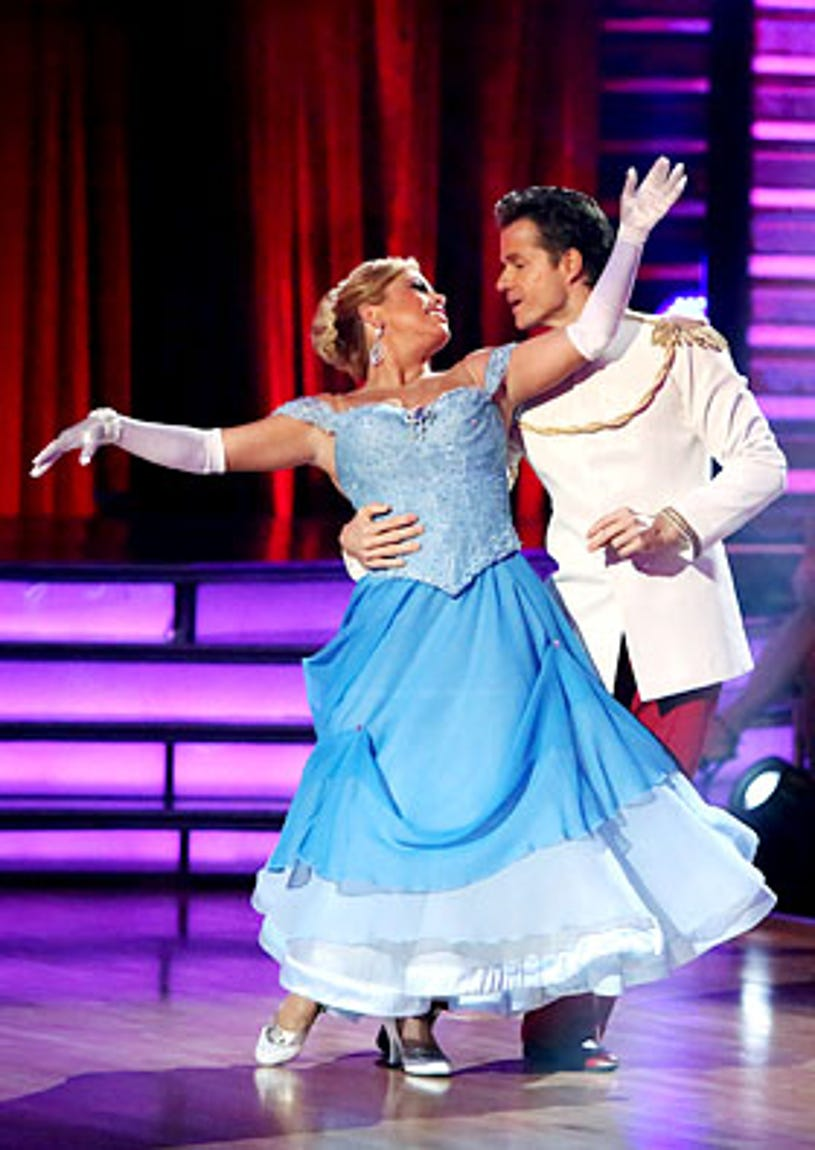 Dancing With The Stars: All-Stars - Sabrina Bryan and Louis van Amstel