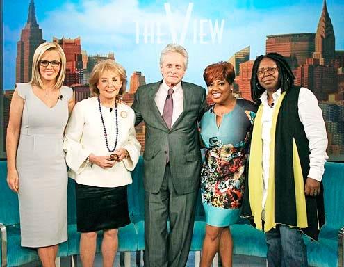 The View - Season 17 - Jenny McCarthy, Barbara Walters, Michael Douglas, Sherri Shepherd and Whoopi Goldberg