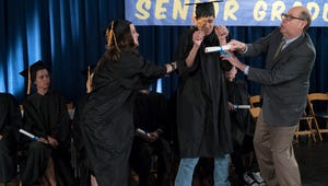 The Goldbergs Exclusive First Look: Things Get Crazy at Erica's Graduation
