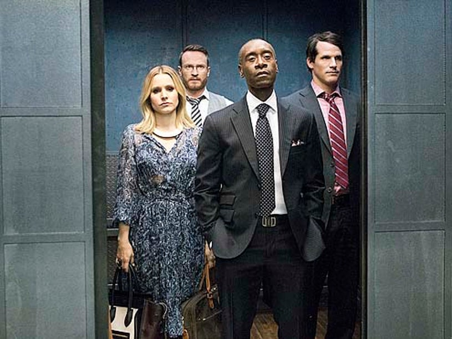 "House of Lies - Season 3 - ""Associates"" - Kristen Bell, Josh Lawson, Don Cheadle and Ryan Gaul"
