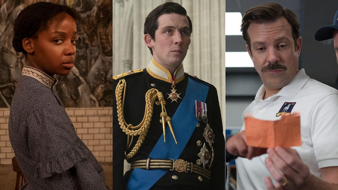 The Underground Railroad, The Crown, Ted Lasso