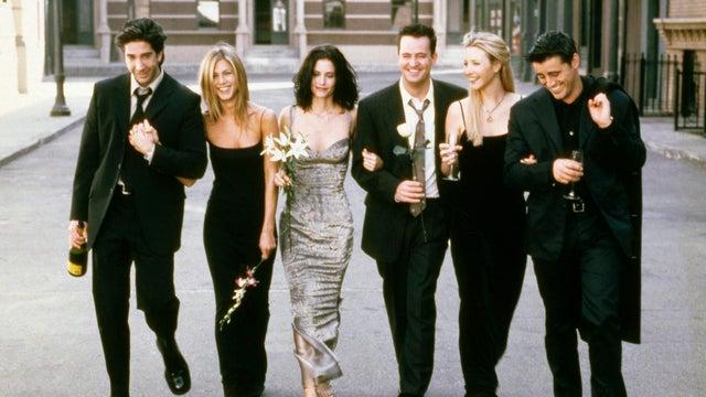 David Schwimmer, Jennifer Aniston, Courteney Cox, Matthew Perry, Lisa Kudrow, Matt LeBlanc, Friends