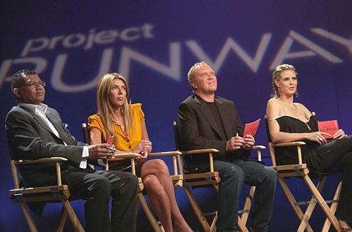 Project Runway -  Season 2 - Freddie Leiba, Nina Garcia, Michael Kors, Heidi Klum