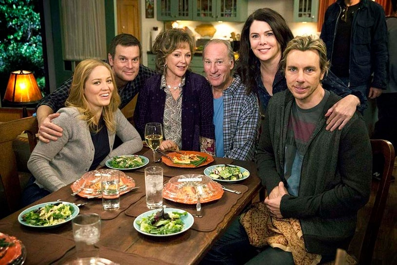 "Parenthood - Season 6 - """"We Made It Through The Night"" - Erika Christensen, Peter Krause, Bonnie Bedelia, Craig T. Nelson, Lauren Graham and Dax Shepard"