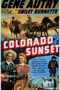 Colorado Sunset as Clanton