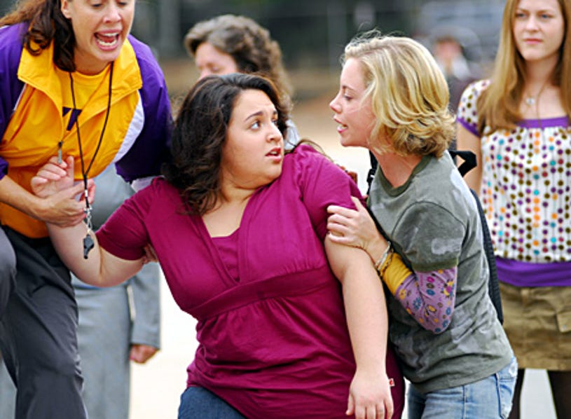 Queen Sized - Nikki Blonsky as Maggie Baker, Lilly Hollemon as Chelsea