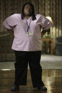 "Sonya Eddy as Olivia ""Mama"" Toussaint"
