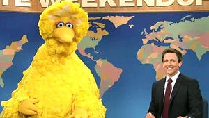 VIDEO: Big Bird Steals Daniel Craig's Thunder on Saturday Night Live