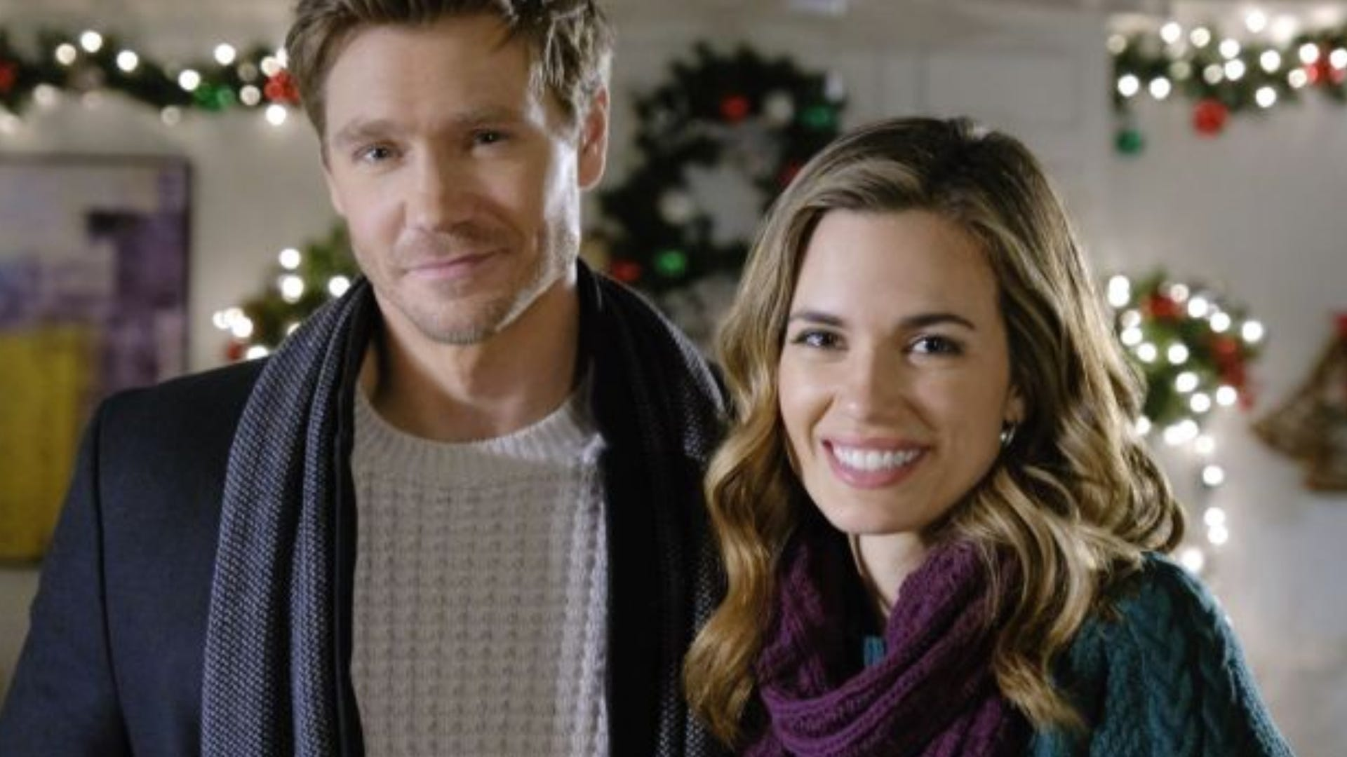 Chad Michael Murray and Torrey DeVitto, Write Before Christmas