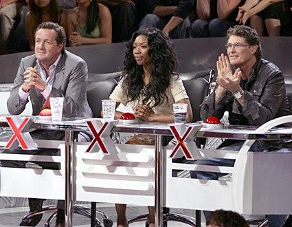 America's Got Talent - Judges -  Piers Morgan, Brandy, David Hasselhoff