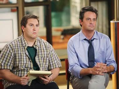 "Mr. Sunshine - Season 1 - ""Hostile Workplace"" - Nate Torrence, Matthew Perry"