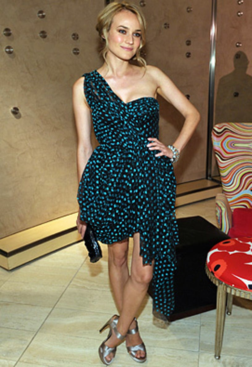 Diane Kruger - The preview of Jason Wu Spring 2010 collection at Neiman Marcus, October 27, 2009
