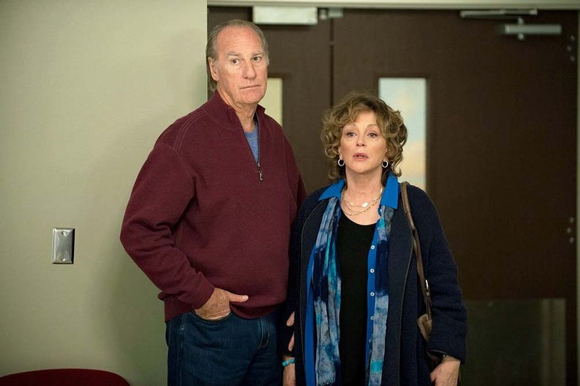 "Parenthood - Season 6 - """"We Made It Through The Night"" - Craig T. Nelson and Bonnie Bedelia"