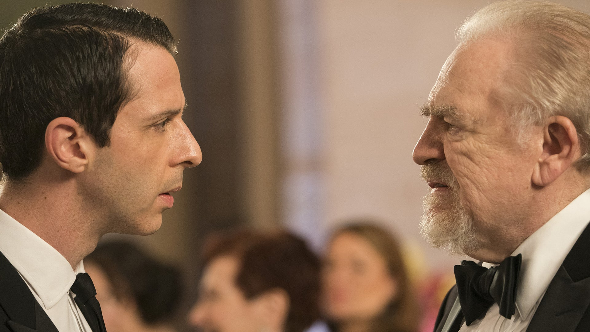 Jeremy Strong and Brian Cox, Succession