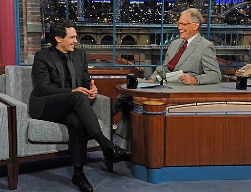 Late Show with David Letterman - James Franco, David Letterman - April 1, 2011