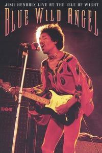 Jimi Hendrix at Isle of Wight: Blue Wild Angel