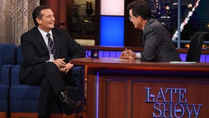 Watch the Late Show Audience Boo Ted Cruz Over Gay Marriage Stance