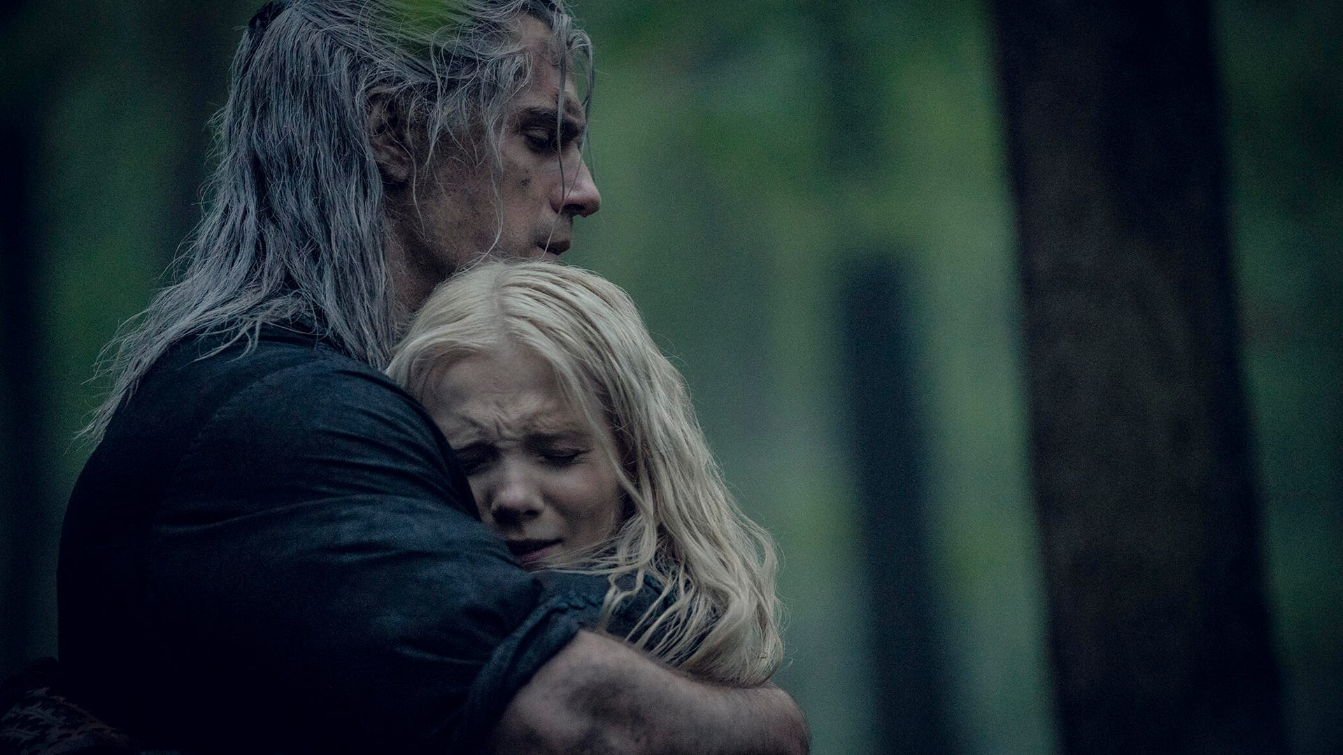 Henry Cavill and Freya Allan, The Witcher