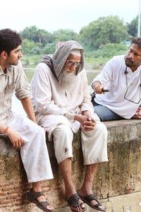 Amitabh Bachchan as Kailash Nath, the Bhoothnath