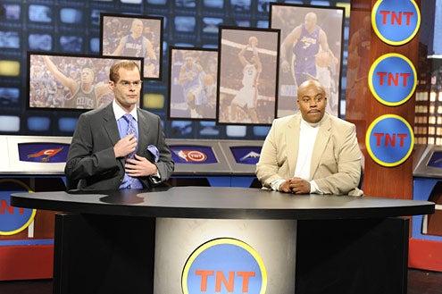 "Saturday Night Live - Season 34 - ""Will Ferrell"" - Bill Hader, Kenan Thompson"