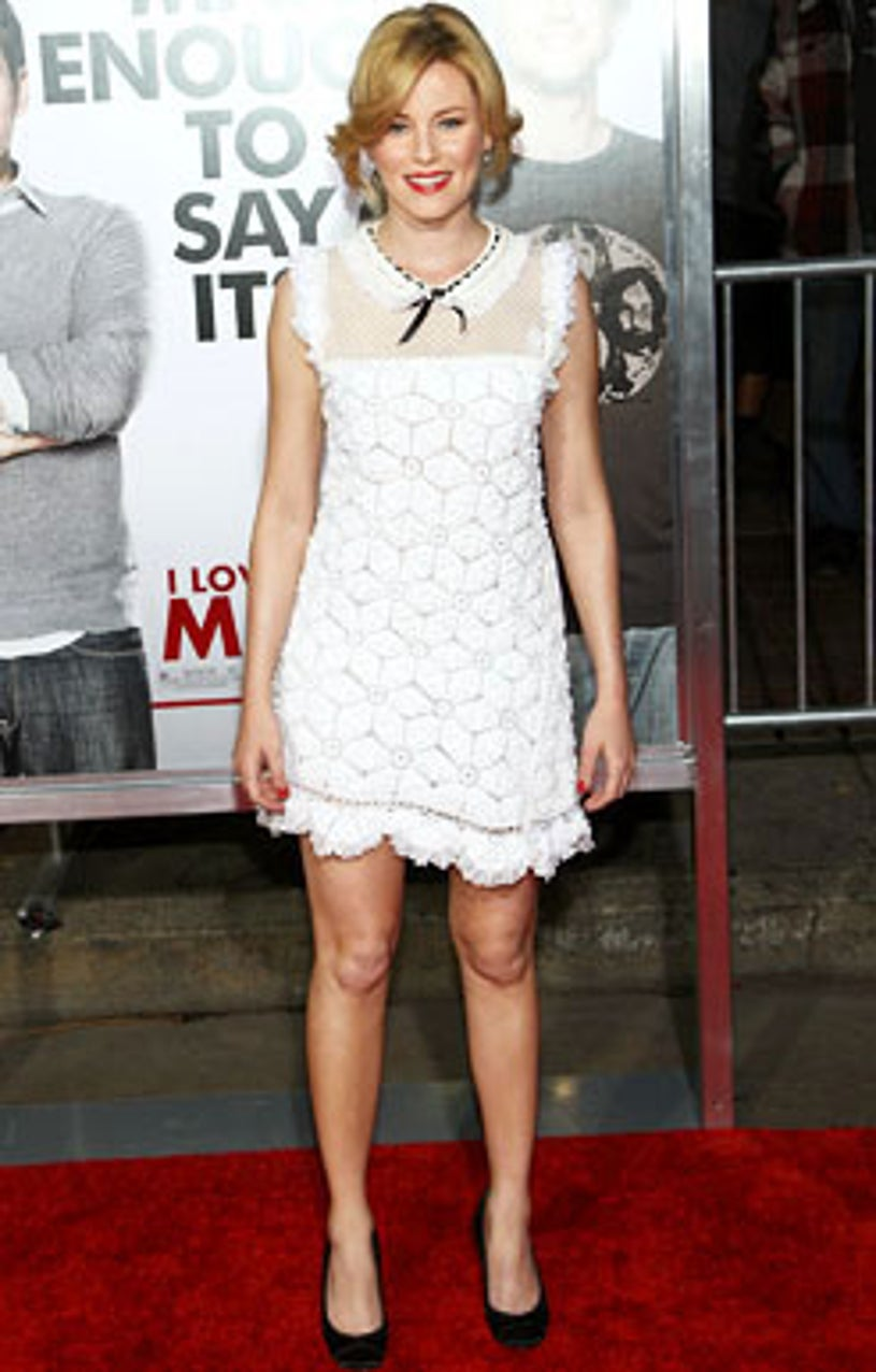 """Elizabeth Banks - The Los Angeles premiere of """"I Love You, Man""""  in Los Angeles, March 17, 2009"""