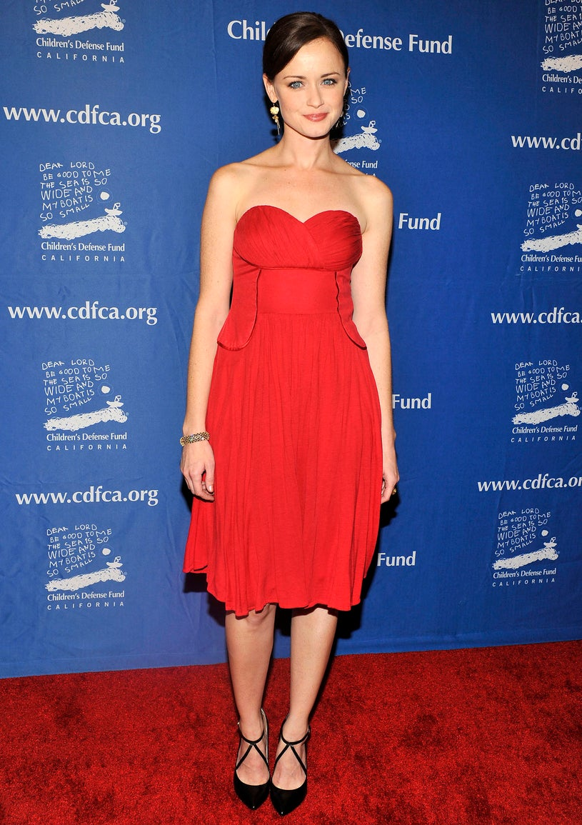 "Alexis Bledel - Children's Defense Fund-California 22nd Annual ""Beat the Odds"" Awards in Beverly Hills, California, December 6, 2012"