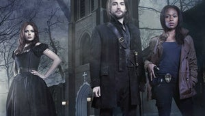 """Watch Out, Katrina! Sleepy Hollow's Tom Mison Says Ichabod Is """"Completely In Love"""" with Abbie"""