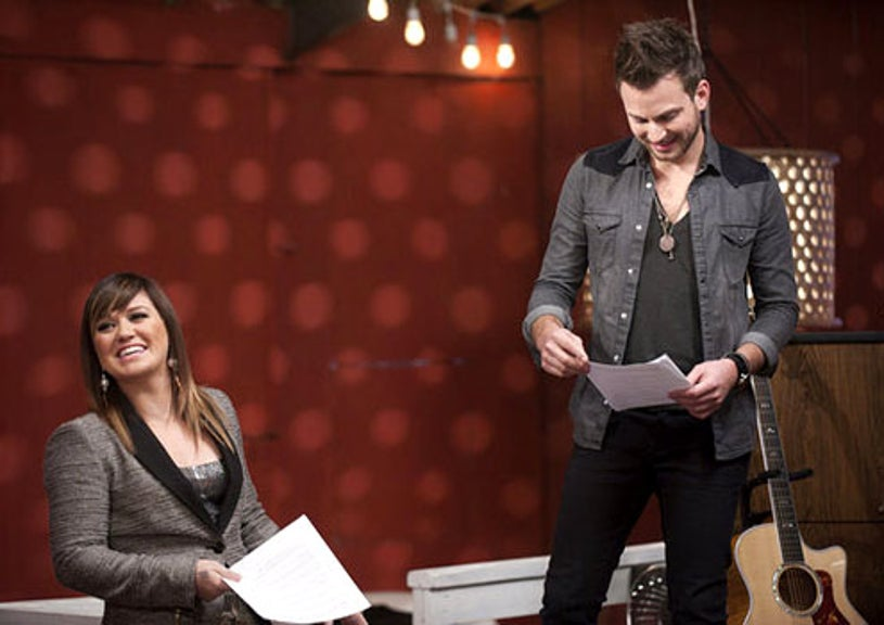 The Voice - Season 2 - Kelly Clarkson and Brian Fuente