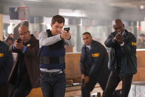 "Fringe - Season 3 - ""Entrada"" - Joshua jackson and Lance Reddick"