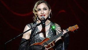 """Madonna Dedicates Song to the Pope, Says There's Not """"That Much Difference"""" Between Her and Him"""
