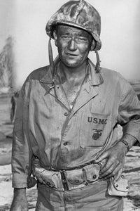 John Wayne as Col. Joe Madden