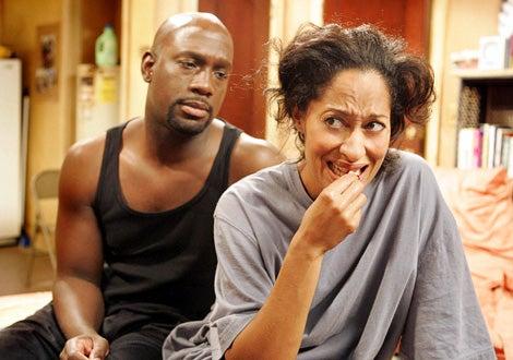 """Girlfriends - """"I Want My Baby Back"""" - Richard T. Jones as Aaron, Tracee Ellis Ross as Joan"""