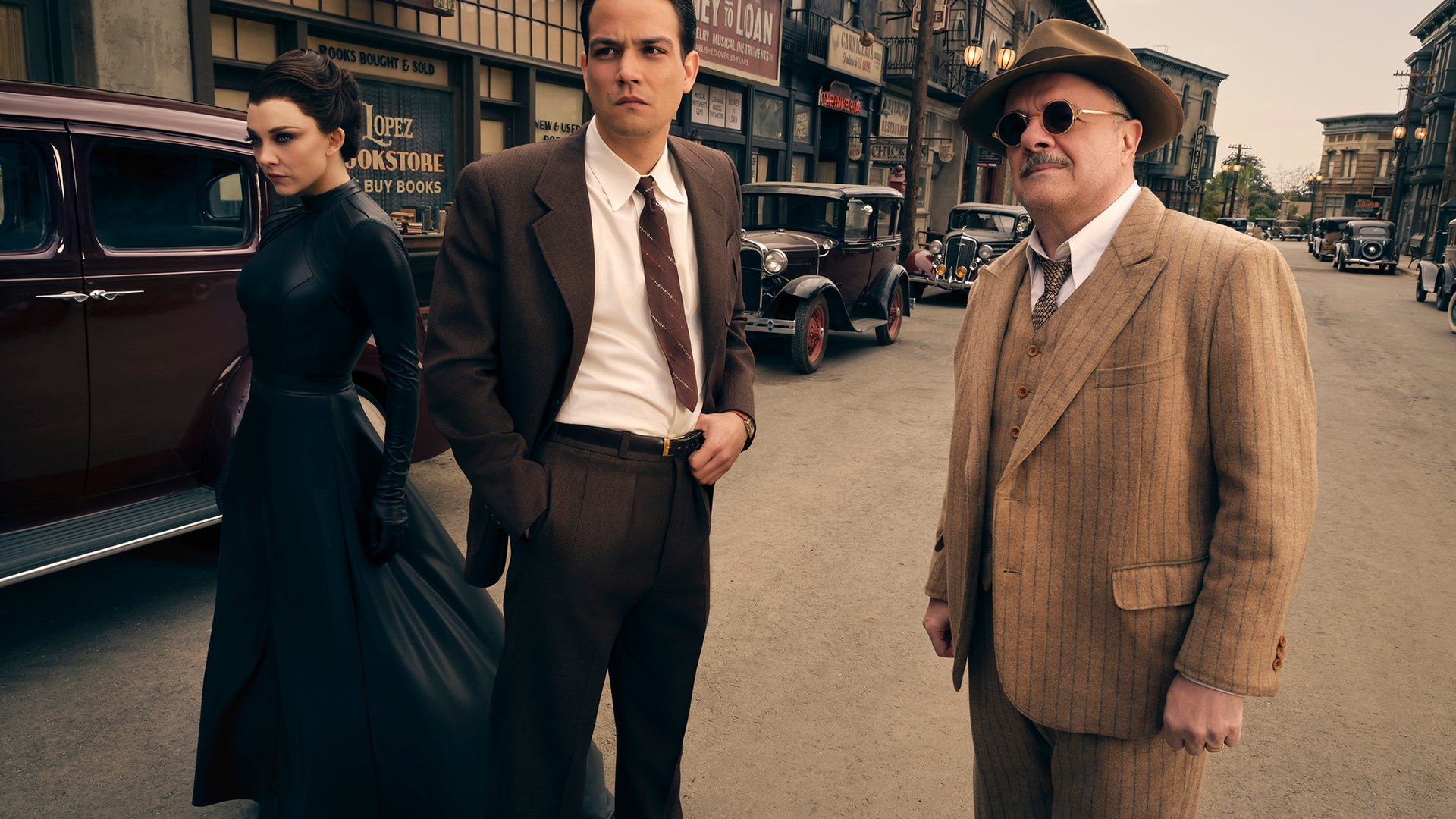 Natalie Dormer, Daniel Zovatto, Nathan Lane, Penny Dreadful: City of Angels