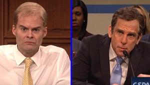 SNL's Michael Cohen Hearing Opening Had Ben Stiller Battling Bill Hader