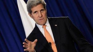 John Kerry Breaks Leg in Biking Accident