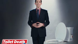 It Took 10 Years, But John Mulaney Finally Got His Toilet Death Sketch on SNL