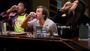 Hulu's Goofy-Good Movie The Binge Is Basically The Purge Meets Superbad