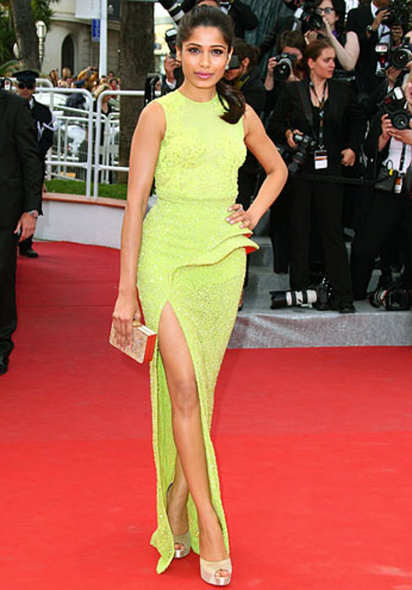 """Freida Pinto -  The """"De Rouille et D'os"""" premiere during the 65th Annual Cannes Film Festival in France, May 17, 2012"""