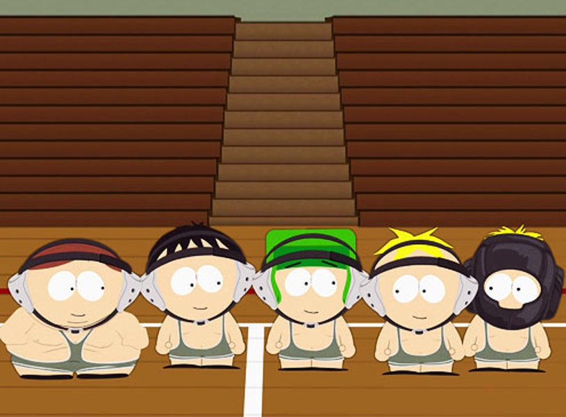 """South Park - Season 13 - """"W.T.F."""" - Cartman, Stan, Kyle and Butters"""